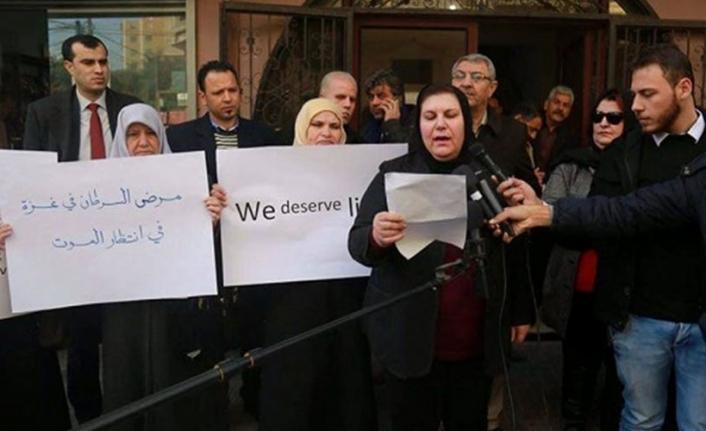 Gazze'de kanser hastalarının durumu kötüleşiyor