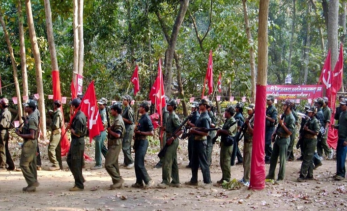 Hindistan'da Maocular ayaklandı