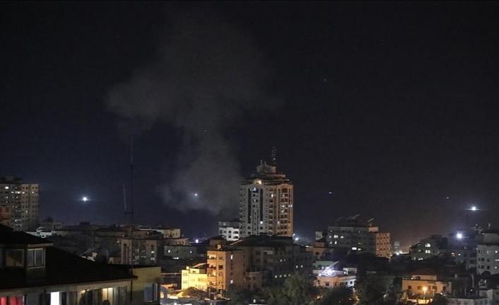 İsrail yine Gazze'yi vurmaya başladı
