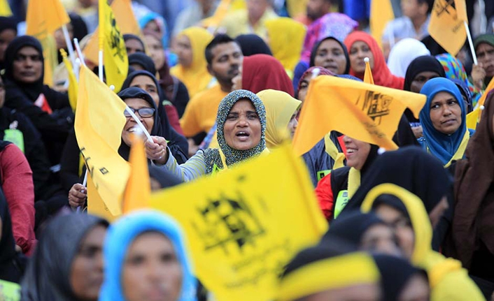 Maldivler'de seçimi ortak aday kazandı