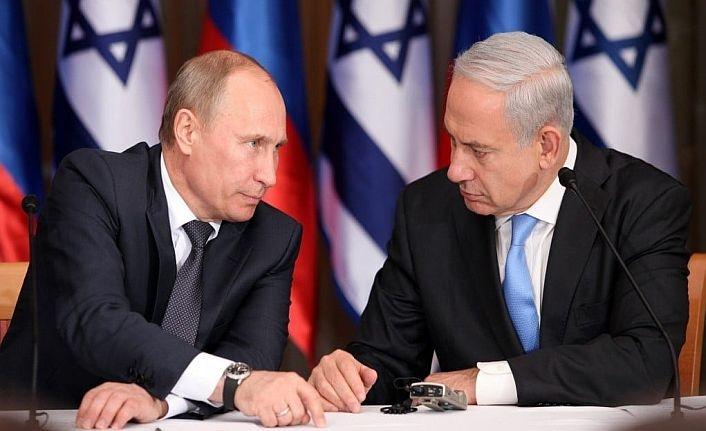 Netanyahu Putin'i aradı, Esed'i suçladı