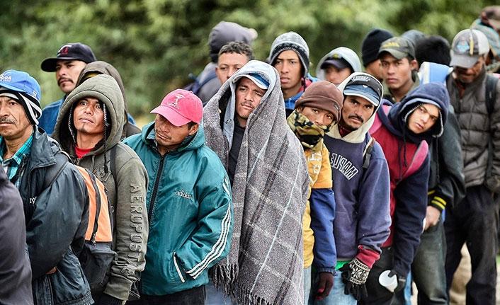 Meksika sınıra polis yığdı