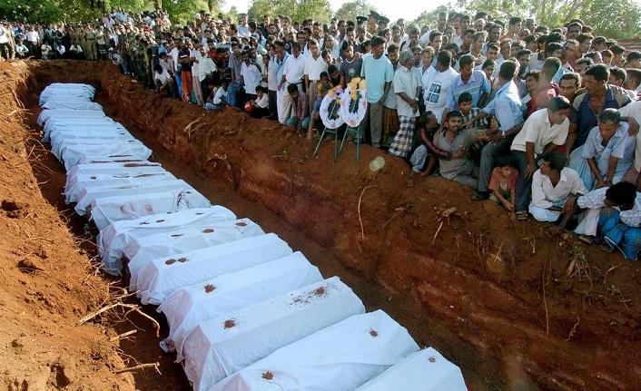 Sri Lanka'da toplu mezar bulundu