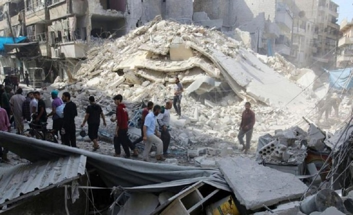 ABD koalisyonu camiye saldırdı, 17 ölü