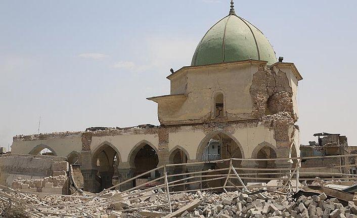 Bağdadi'nin hilafet ilan ettiği cami yeniden inşa ediliyor