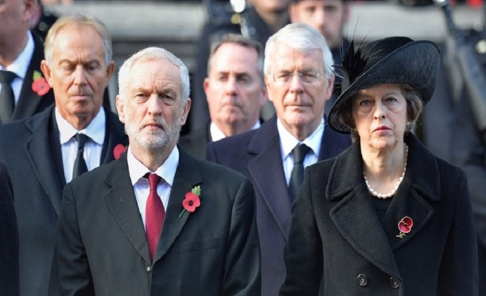 Blair'in hamlesi İngiliz Başbakan May'i kızdırdı