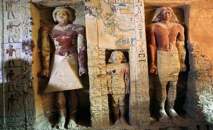 Mısır'da 4 bin 400 yıllık keşif