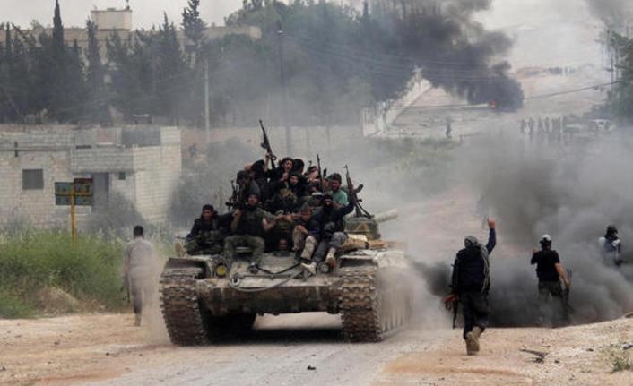 Esed rejimi İdlib'e saldırdı