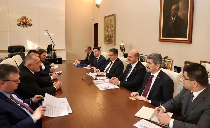 İçişleri Bakanı Soylu Borisov ile görüştü