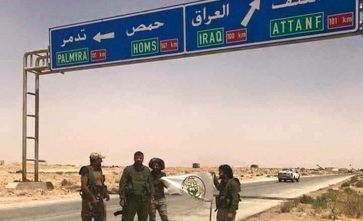 Iraklı güçler Suriye sınırında teyakkuzda