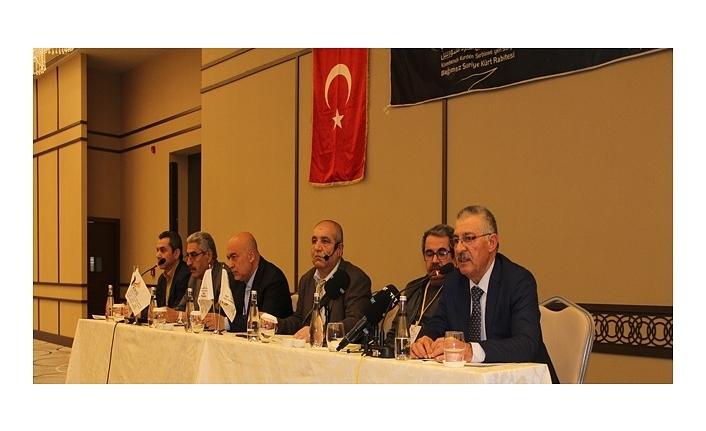 Suriye Bağımsız Kürt Rabıtası Başkanı Mersin'de konferans verdi