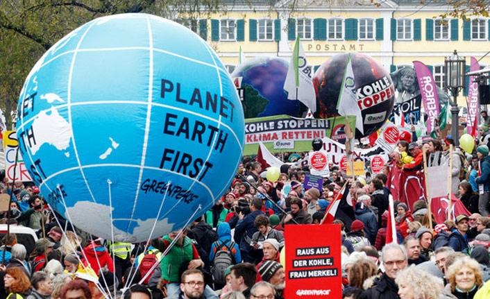 Ukrayna'dan Rusya'ya iklim protestolarına provokasyon suçlaması