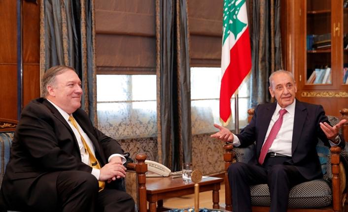 Pompeo'dan eski ABD yönetimine Hizbullah eleştirisi