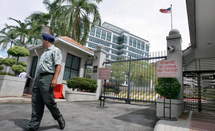 ABD'nin Kuala Lumpur Büyükelçisi Malezya Dışişleri Bakanlığına çağırıldı