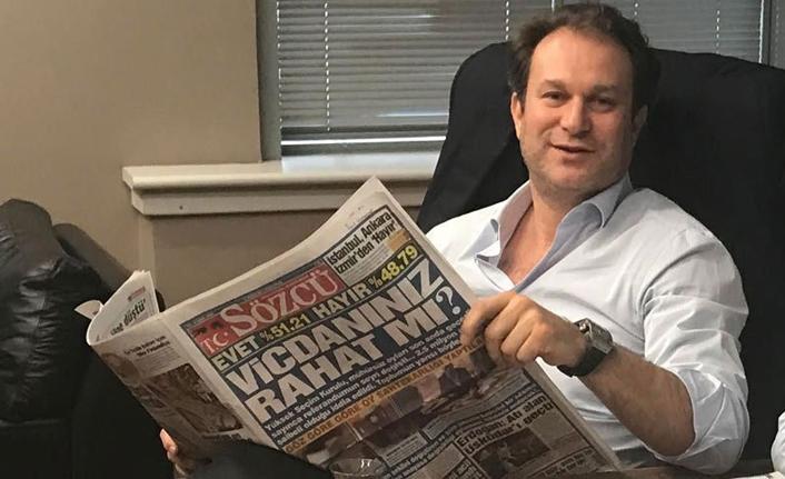 Sözcü gazetesi sahibi Burak Akbay hakkında kırmızı bülten kararı