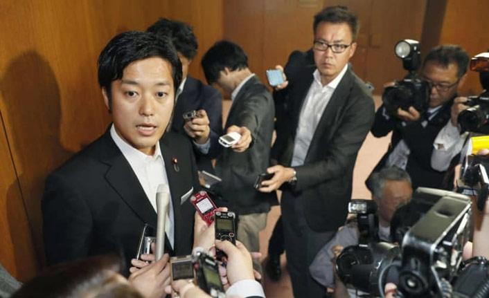 Japonya'da ilk kez bir milletvekili için kınama teklif edildi