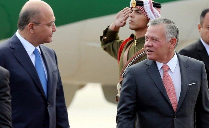 Ürdün Kralı, Irak ziyaretinde Filistin bağımsız devleti için çağrı yaptı