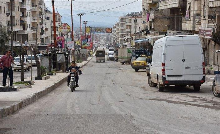 Afrin'de bombalı terör saldırısı önlendi