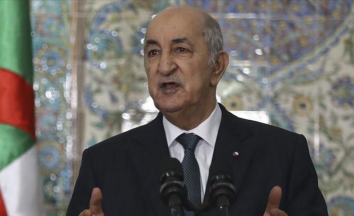 Cezayir Cumhurbaşkanı Tebbun İsrail'le normalleşme adımına katılmayacaklarını yineledi