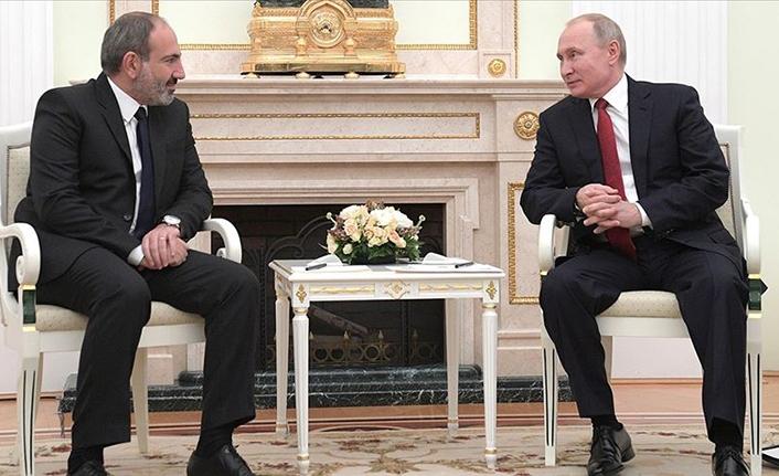 Putin ile Paşinyan, Dağlık Karabağ'ı görüştü