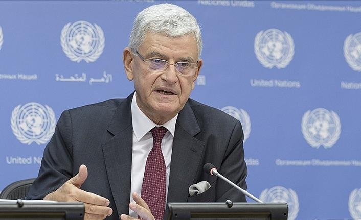 BM Genel Kurul Başkanı Bozkır: İlk hedef salgın öncesine dönmek