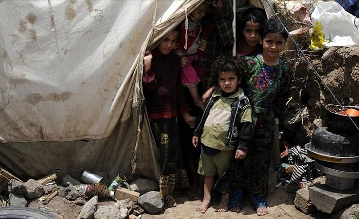 Yemen'de bu sene 28 bin aile yerinden edildi