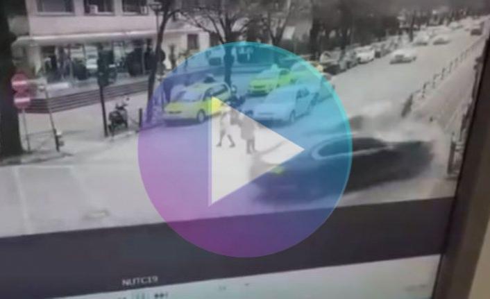 Arnavutluk'ta korkunç kaza! Yaya kıl payı kurtuldu