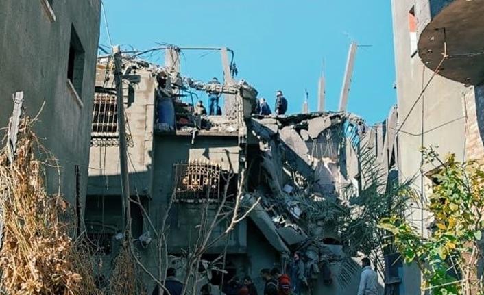 Gazze'de patlama: Çok sayıda yaralı var