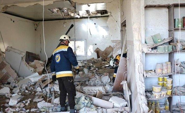 Esed sivillere saldırdı