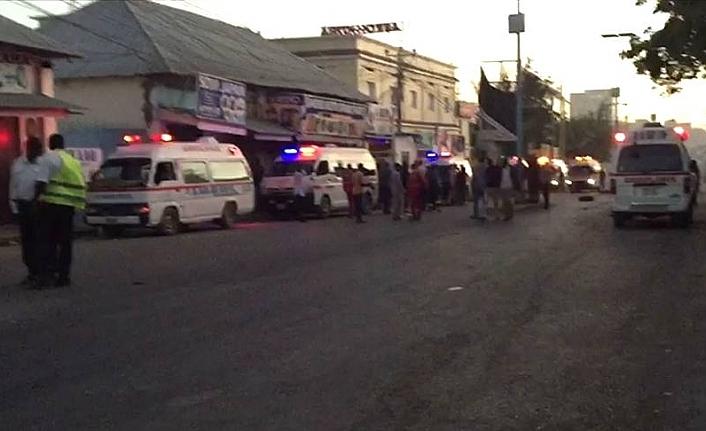 Somali'de şiddetli bir patlama sesi duyuldu