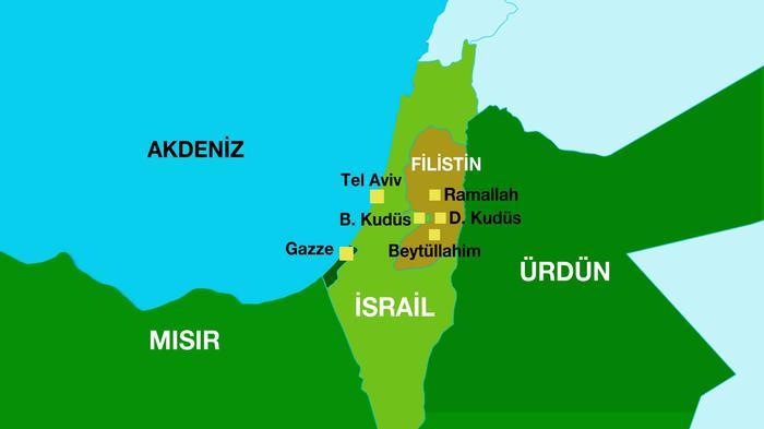 Kral, Filistin sınırlarında 1937'yi kabul etti