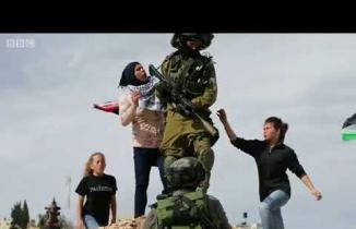 Ahed Tamimi İsrail askerini tokatladı