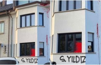 Terör örgütü yandaşları Türk Toplumu Başkanının evine saldırdı