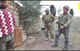 Ermeni kadından Azeri askere: Evinize hoşgeldiniz