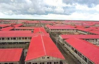 Rohingyalar için hazırlanan Bhasan Char adasındaki hapishaneler