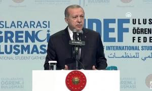 Erdoğan'dan Türkiye'deki misafir öğrencilere iyi haber