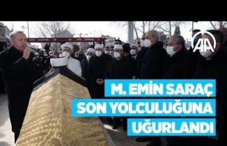 M. Emin Saraç Hocaefendi son yolcuğuna uğurlandı